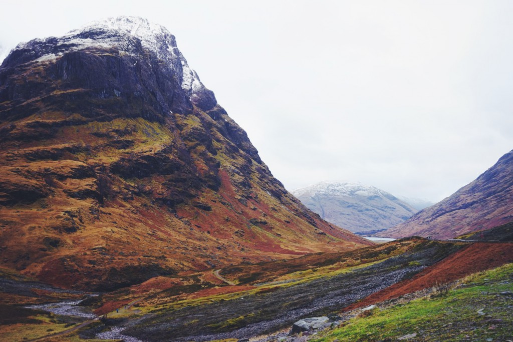 Stunning Glencoe Landscape. I absolutely fell in love with all the brilliant & varying colors strewn across the landscape.