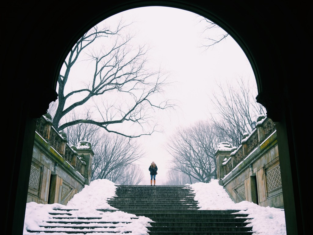 winter explorations in central park travel photographs and