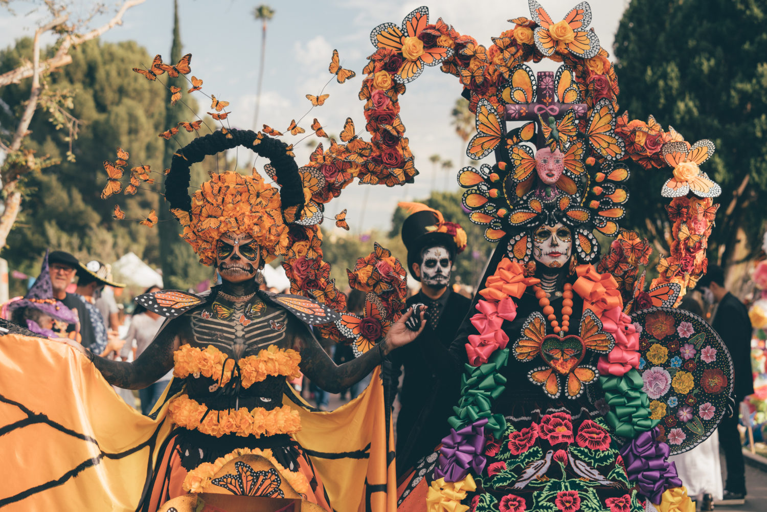 Celebrating Día de Los Muertos at Hollywood Forever Cemetery